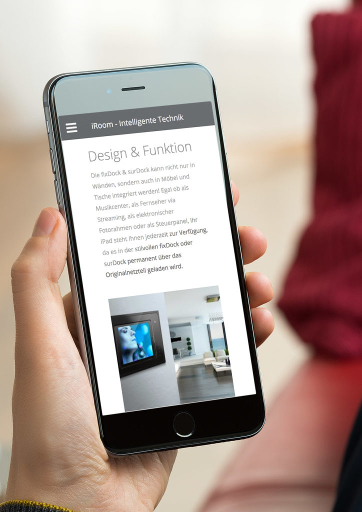 Webdesign Mobile First