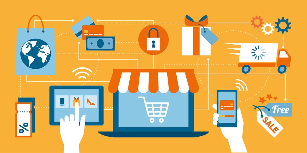 Online shopping, Webshop
