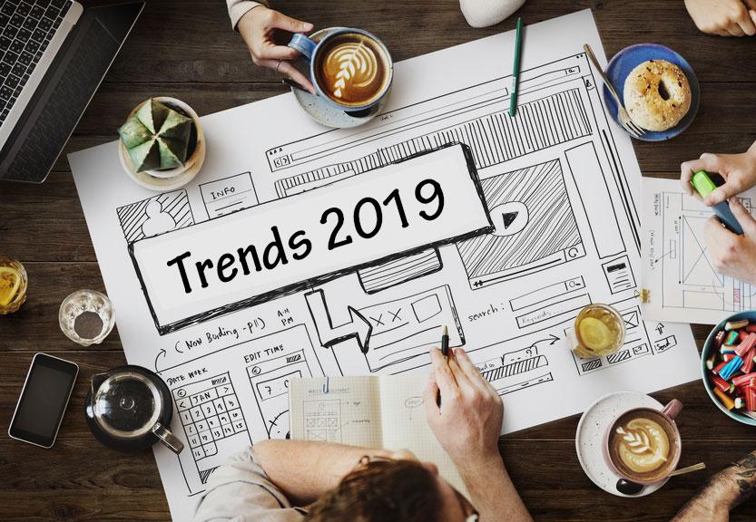 Webdesign Trends2019